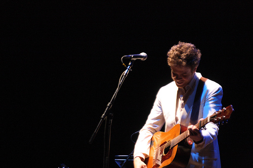 Josh Ritter plays The Beacon Theatre