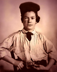 Mark Twain, printer's apprentice